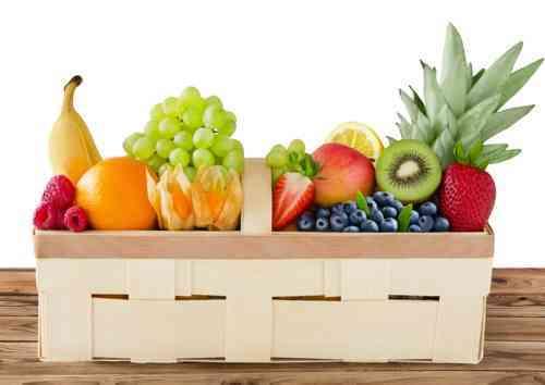 Mein Obst und Gemüsekorb