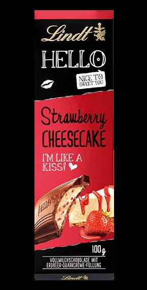 HELLO Strawberry Cheesecake